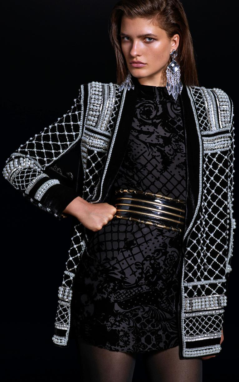 Hijab Friendly Looks from the Balmain x H&M Collection2015