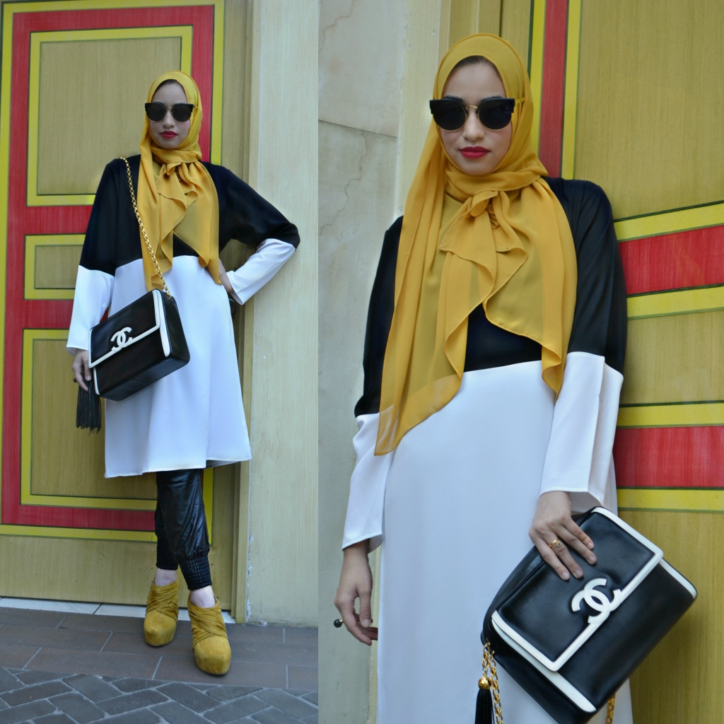The Block Party Tunic from Abaya Addict